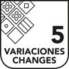 5 Variaciones
