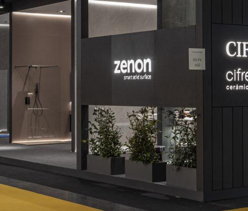 Stande de Zenon en Cevisama 2020
