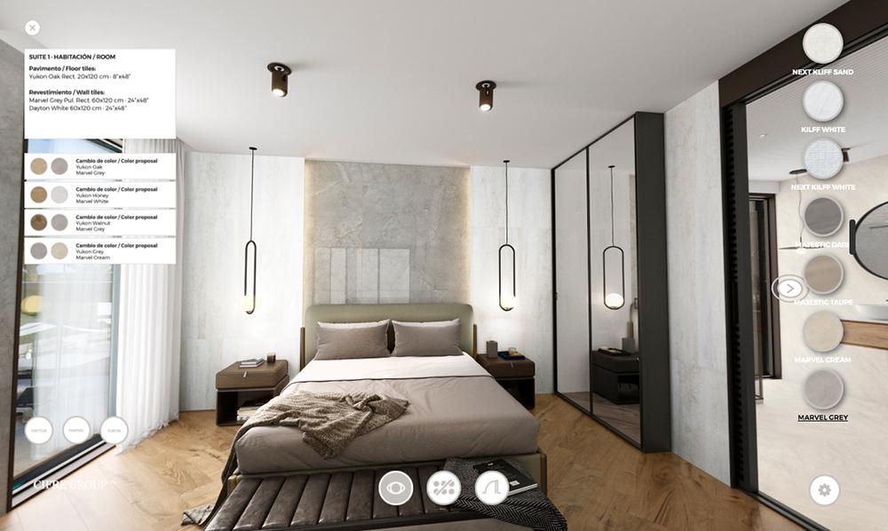 Cifre Resort, detalle suite